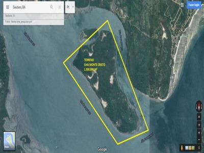 Terreno Residencial Em Saubara - Ba, Ilha Monte Cristo - Ar218