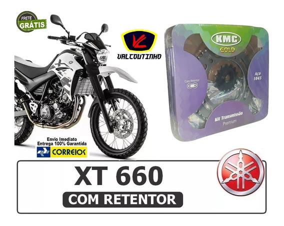 Kit Relação Yamaha Xt 660 Tenere Com Retentor Kmc Gold 5973