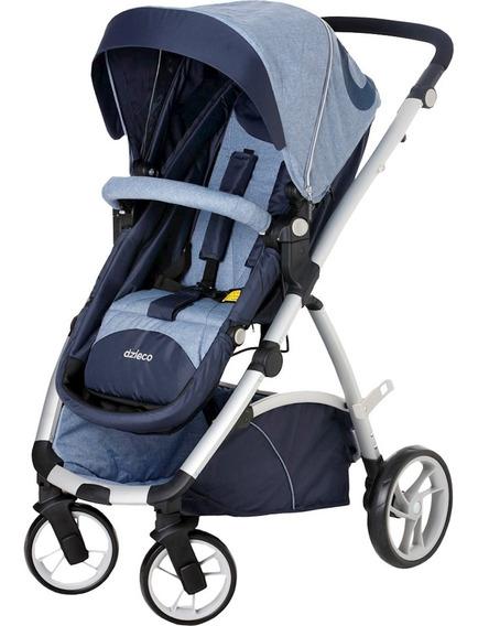 Carrinho De Bebê Travel System Dzieco Maly - Azul