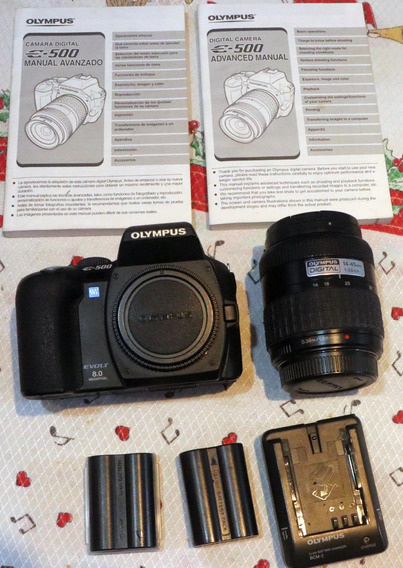 Câmera Fotográfica Profissional Olympus Evolt 500