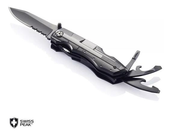 Navaja Múltiple Swiss Peak Multitool Knife Nueva Ahora 18