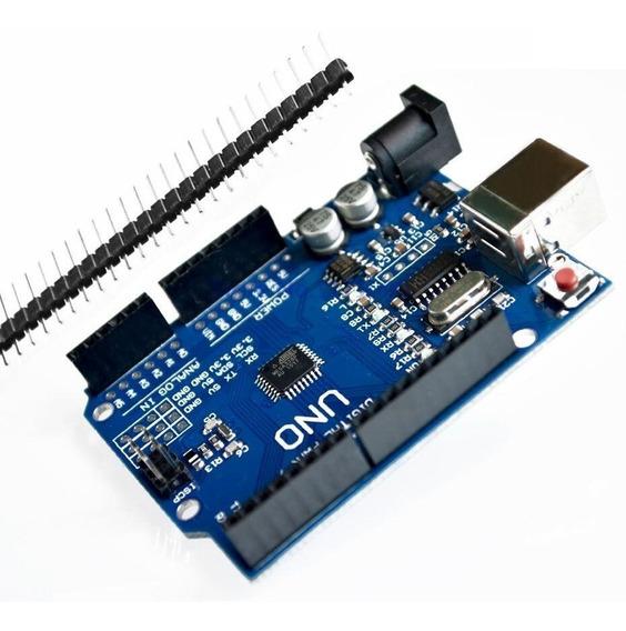 Arduino Uno Rev3 R3 Atmega328 Smd Sem Cabo Usb