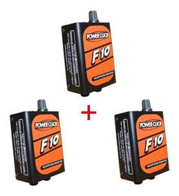 Kit 3 Amplificador Fone De Ouvido Power Click F10 Oferta !!