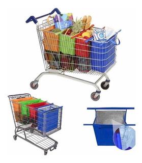 Bolsas Para Supermercado, Con Hielera, Plegable,reutilizable