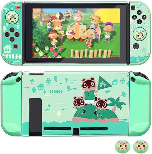 Imagen 1 de 2 de Carcasa Nintendo Switch - Animal Crossing