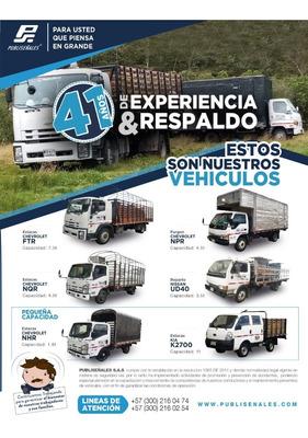 Servicio De Transporte De Carga A Nivel Nacional Y Urbano