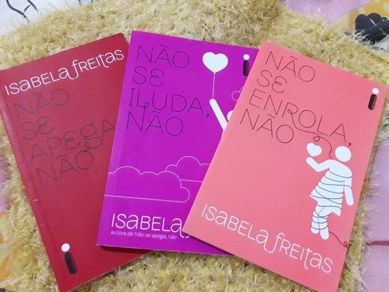 Kit 3 Livros Não Se Apega + Não Se Iluda + Não Se Enrola