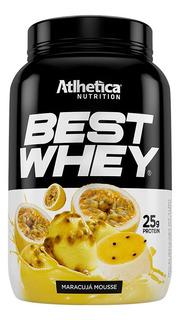 Best Whey Protein 900g Sabor Maracujá Mousse Atlhetica