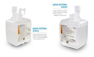 Agua Estéril Frasco Para Concentrador Oxigeno X 5 Und