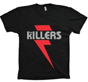 Camisetas Bandas Rock - The Killers - 100% Algodão!