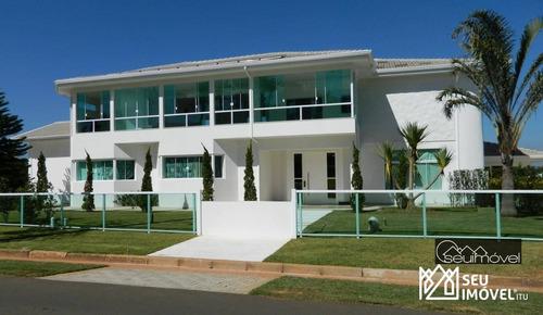 Imagem 1 de 30 de Casa À Venda, 1800 M² Por R$ 12.000.000,00 - Condomínio City Castelo - Itu/sp - Ca0312