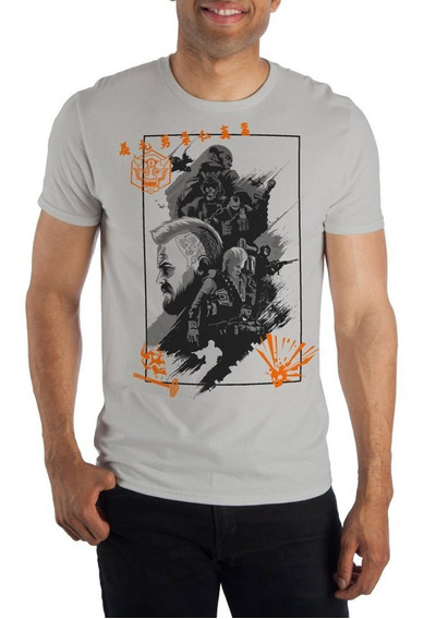 Playera Hombre Call Of Duty Black Ops 4 Exclusivo Bioworld
