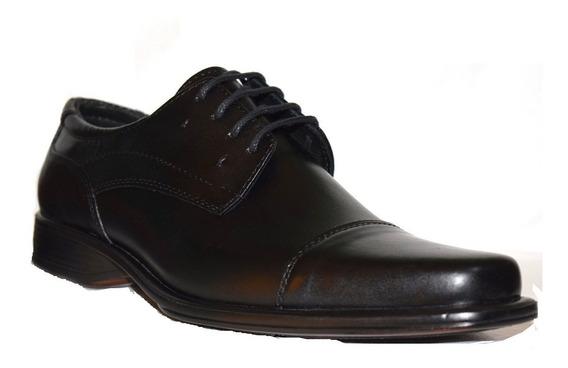 Zapatos De Cuero Hombre Cordones Base Febo Con Taco 39 Al 45