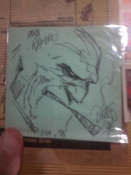 Dibujo Del Cazador Firmado Por Jorge Lucas!! Año 96!!