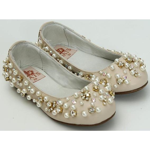 Sapato Feminino Perolas