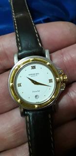 Reloj De Mujer Raymond Weil Parsifal, Suizo, Aro De Oro.