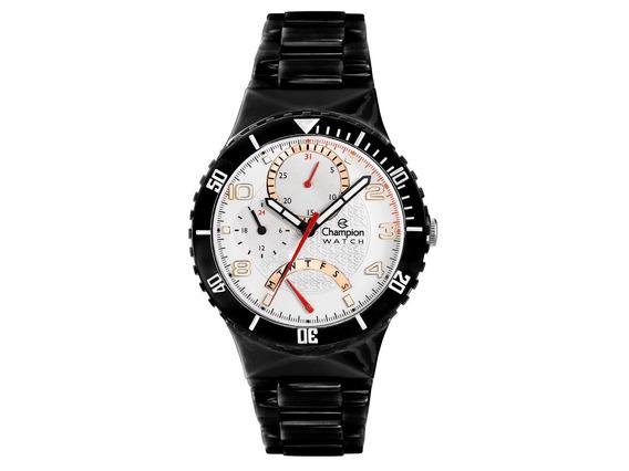 Relógio Original Champion Cp30208 Troca Pulseiras Cx E Nf