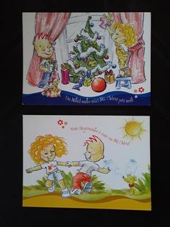 Cartão Postal - O Boticário - Amiga Ma Chérie - 2 Peças