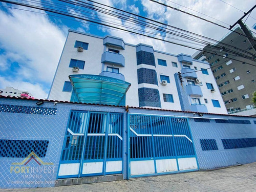 Imagem 1 de 9 de Apartamento Com 2 Dormitórios À Venda, 55 M² Por R$ 220.000,00 - Canto Do Forte - Praia Grande/sp - Ap2755