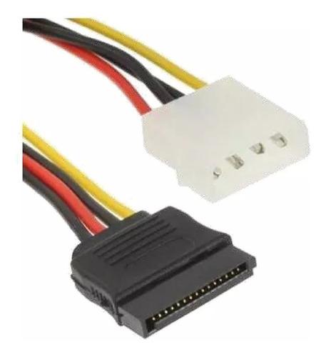 Cable Sata Power Para Fuente De Poder Combo 3 Unidades