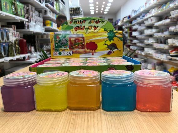 Slime Masa Souvenir Crystal Aroma A Fruta Colores Se Duplica