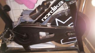 Bicicleta Fija Para Ejercicio Negra Marca Nordika