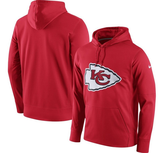 Sudadera Nike Original Therma Dri-fit Nfl Chiefs Kansas City