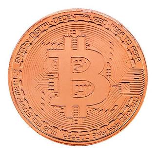 Moneda Conmemorativa Bitcoin Cobre ( Digital Decentralized)