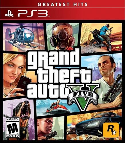 Imagen 1 de 7 de Gta V Grand Theft Auto 5 Ps3 Juego Fisico Sellado Sevengamer