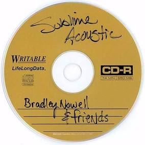 Sublime - Acoustic Bradley Nowell And Friends - Cd Importado