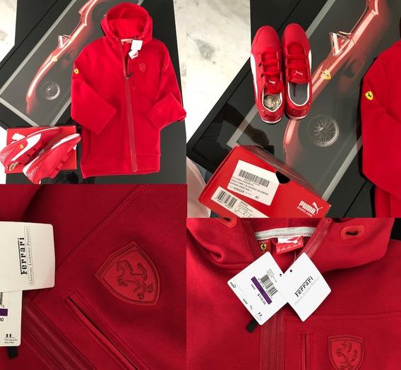 Ferrari Casaco Tenis Original Kit