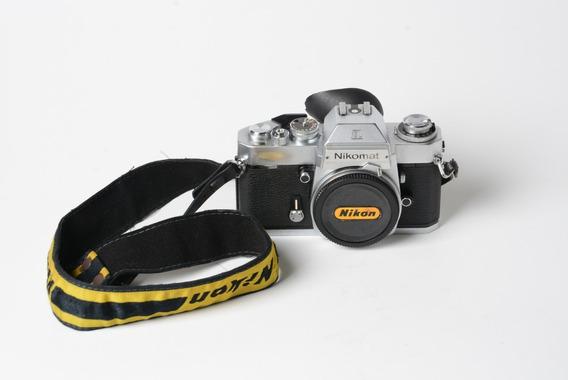 Câmera Nikon Nikomat El - Funcionando