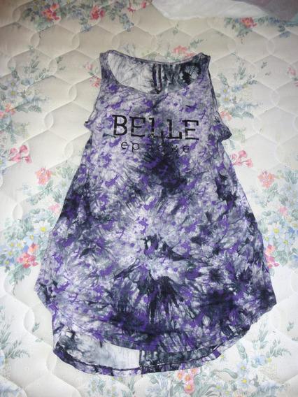 Hermoso Vestido Violeta Batik * Belle Epoque * T.u