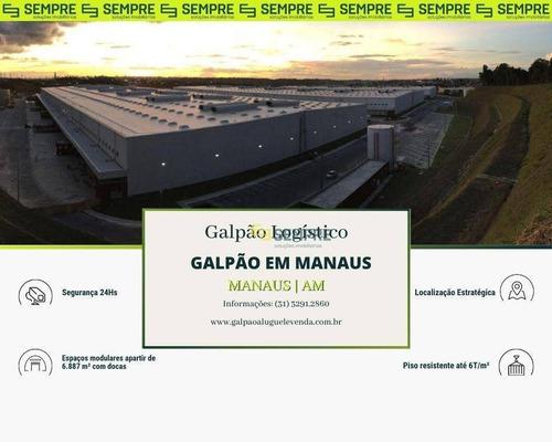 Imagem 1 de 11 de Galpão Para Alugar Em Manaus/am - Ga1256
