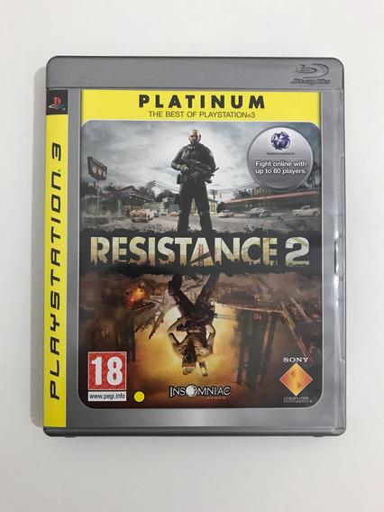 Resistance 2 Platinum Mídia Física Original Ps3 Playstation