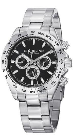 Relojes De Pulsera,reloj Stuhrling Original 564.02 Plate..
