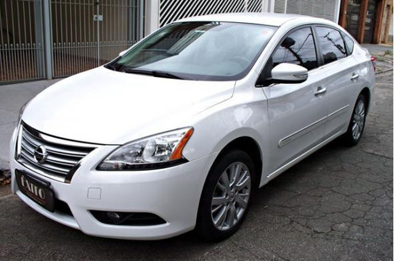 Nissan Sentra Sl 2.0 Flex Automatico Branco 2015