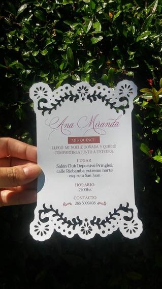 Invitaciones Caladas