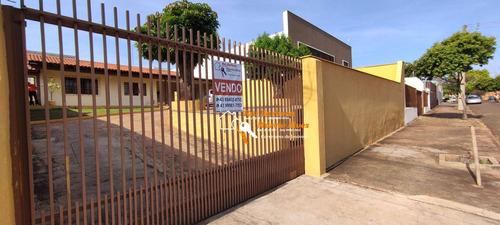 Imagem 1 de 25 de Casa Com 3 Dormitórios Sendo 1 Suíte, Zoneamento Especial À Venda, 170 M² Por R$ 575.000 - Califórnia - Londrina/pr - Ca0077