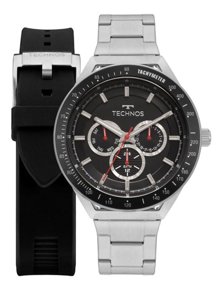 Relógio Technos Masculino Skymaster+pulseira 6p29ajyt1p