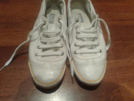 Zapatillas Puma De Lona Blancas