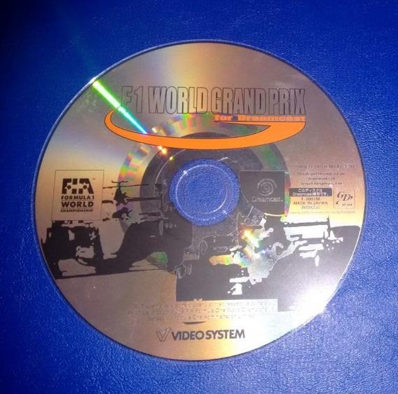 F1 World Grandprix Original Japonês Só Cd P/ Sega Dreamcast