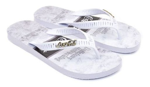 Chinelo Coca Cola Shoes Beach Boy Masculino Tam Especial Cc2615