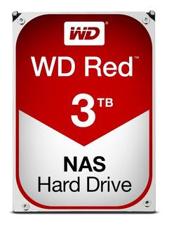 Disco Duro Interno Wd Red 3.5 3tb Sata3 6gb/s 64mb 24x7 Hotp