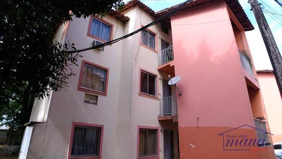 Apartamento Com 02 Quartos E Garagem Na Vila Santa Cruz, Bem Próximo Ao Centro De Santa Cruz Da Serra! - Ap0005