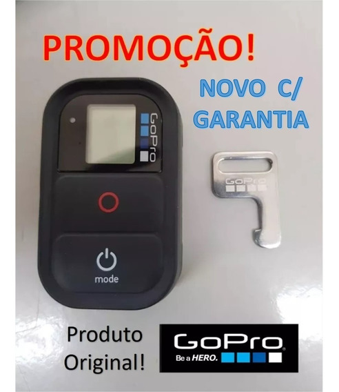 Controle Remoto Gopro Original Hero 2/3/4/5/6/7 Black - Novo