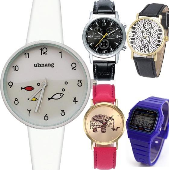 Relojes Mujer Baratos Mayoreo Silicon Caballero Parejas Pz