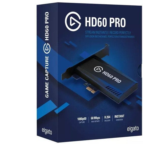 Captura Elgato Game Hd 60 Pro Pcie Xbox One Ps4 One S Wii S