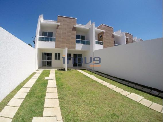 Casa Com 3 Dormitórios À Venda, 114 M² Por R$ 228.990,00 - Mondubim - Fortaleza/ce - Ca0157