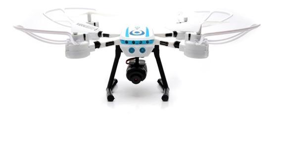 Drone S6 Visualização Ao Vivo Pelo Celular Com Câmera Wi